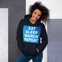 Repeat Unisex Hoddie - Marching Arts Merchandise -  - Marching Arts Merchandise - Marching Arts Merchandise - band percussion color guard clothing accessories home goods