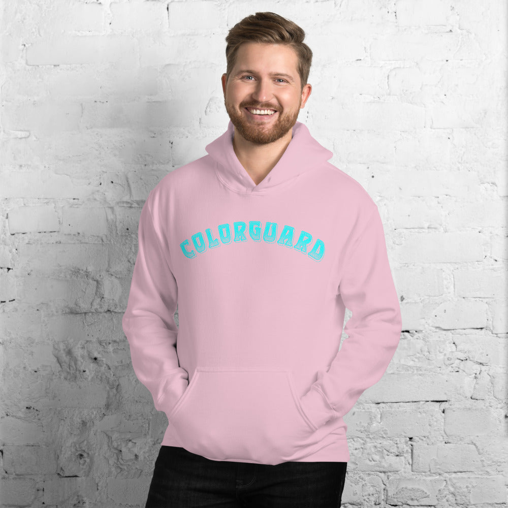 Color Guard Unisex Hoodie-Marching Arts Merchandise-Marching Arts Merchandise