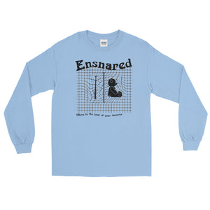 Teddy Snare Men's Long Sleeve Shirt-Marching Arts Merchandise-Light Blue-S-Marching Arts Merchandise