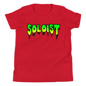 Soloist Youth Short Sleeve T-Shirt-Marching Arts Merchandise-Red-L-Marching Arts Merchandise