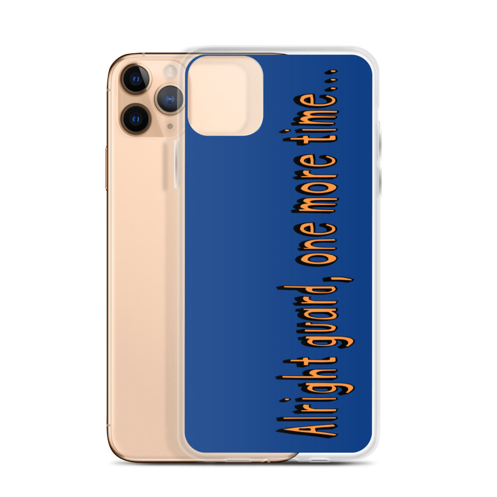 One More Time iPhone Case-Marching Arts Merchandise-Marching Arts Merchandise