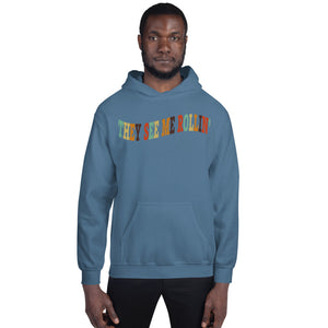 Rollin' Unisex Hoodie-Marching Arts Merchandise-Indigo Blue-S-Marching Arts Merchandise