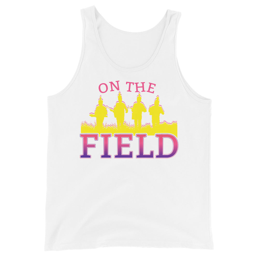 On The Field Marching Band Unisex Tank Top-Marching Arts Merchandise-White-XS-Marching Arts Merchandise