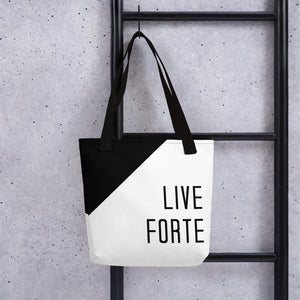 Live Forte Tote Bag-Marching Arts Merchandise-Marching Arts Merchandise