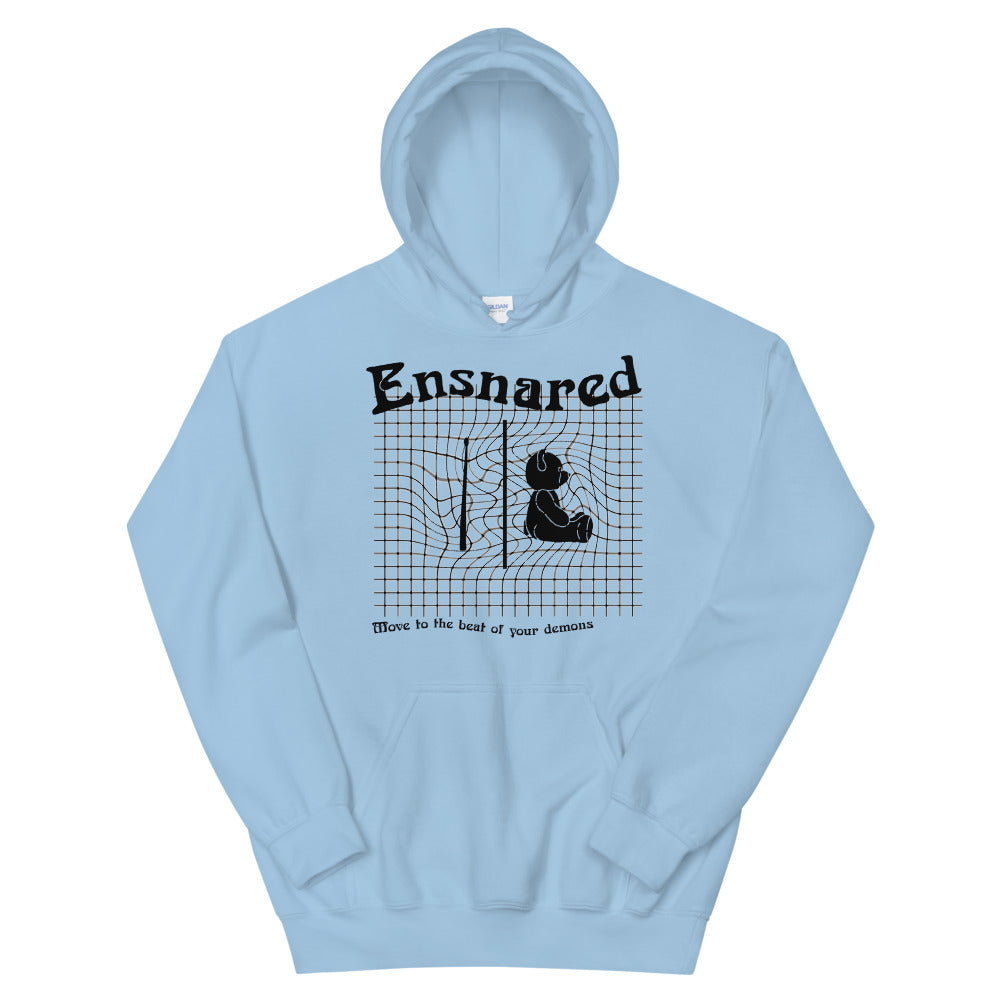 Teddy Snare Unisex Hoodie-Marching Arts Merchandise-Light Blue-S-Marching Arts Merchandise