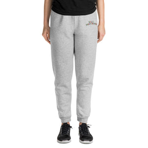 Keep Marching Embroidered Unisex Joggers-Marching Arts Merchandise-S-Marching Arts Merchandise