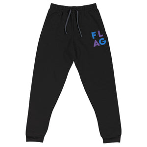 Flag Block Unisex Joggers-Marching Arts Merchandise-Black-S-Marching Arts Merchandise