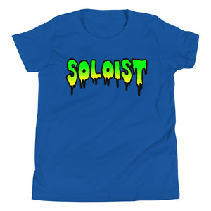Soloist Youth Short Sleeve T-Shirt-Marching Arts Merchandise-True Royal-L-Marching Arts Merchandise