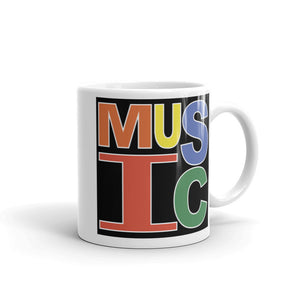 Retro Music Mug-Marching Arts Merchandise-11oz-Marching Arts Merchandise
