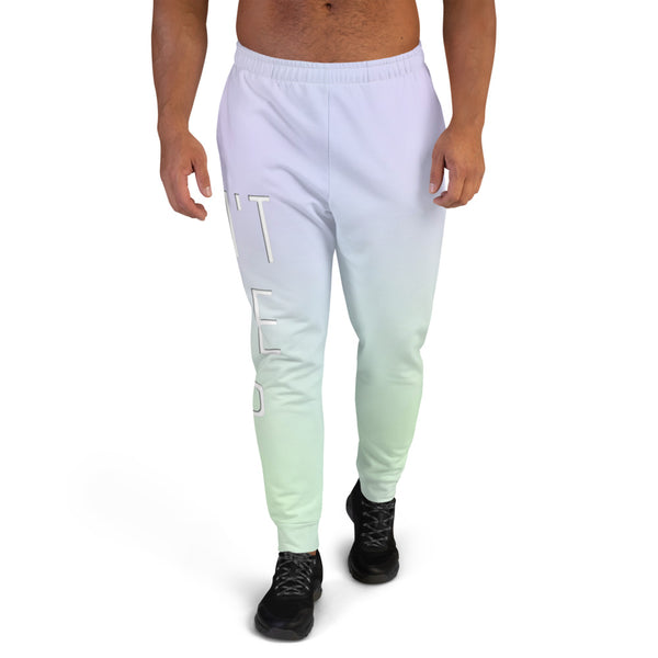Don't Give Up Men's Joggers - Marching Arts Merchandise -  - Marching Arts Merchandise - Marching Arts Merchandise - band percussion color guard clothing accessories home goods