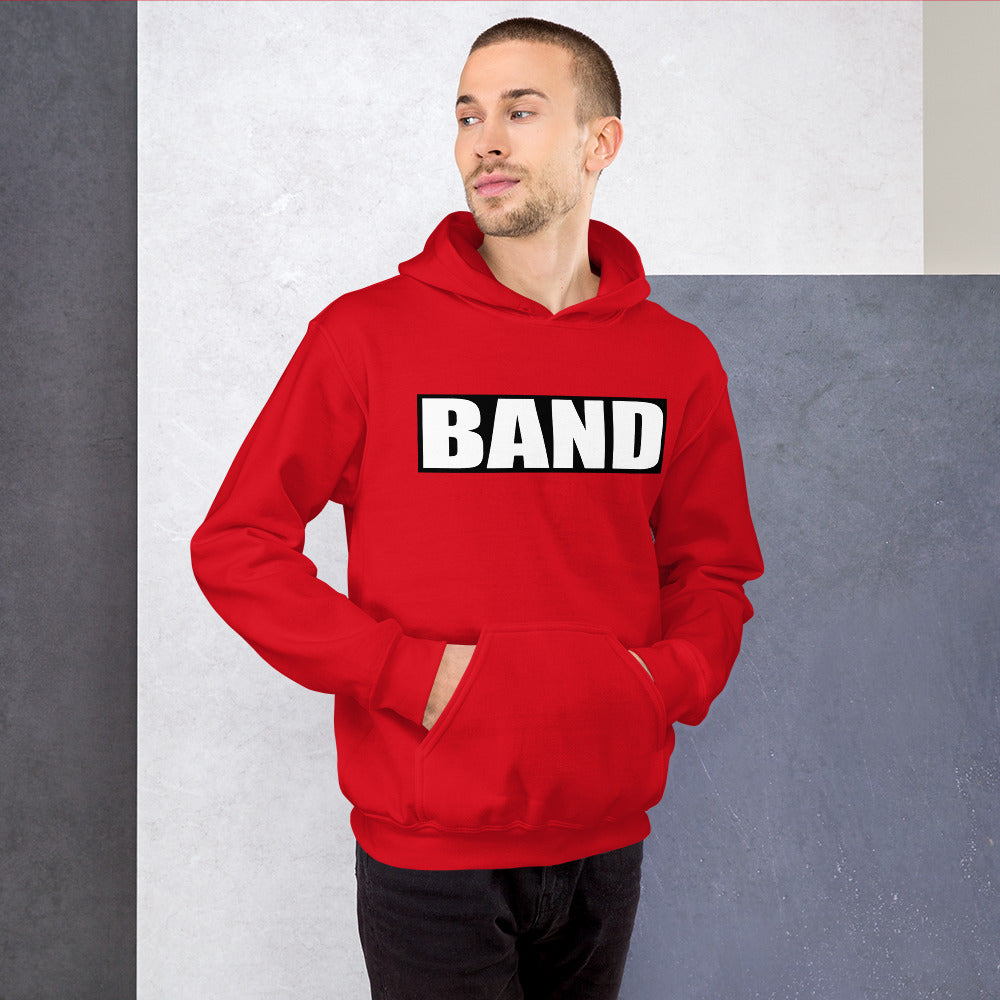 BAND Band Marching Band Unisex Hoodie-Hoodie-Marching Arts Merchandise-Marching Arts Merchandise