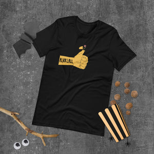 RLRR Flower Percussion Short-Sleeve Unisex T-Shirt-Marching Arts Merchandise-Marching Arts Merchandise
