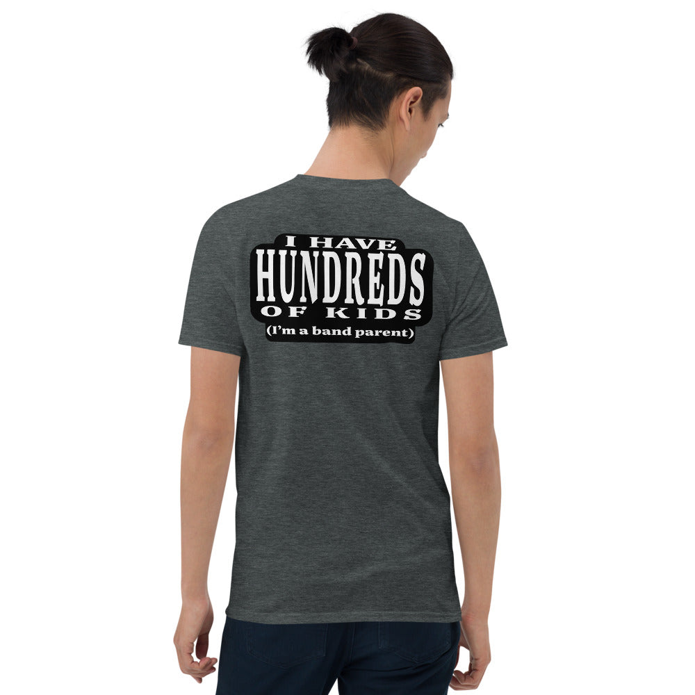 Hundreds Short-Sleeve Unisex T-Shirt-Marching Arts Merchandise-Dark Heather-S-Marching Arts Merchandise