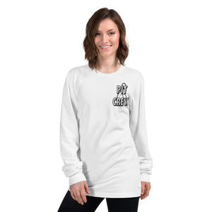 Pit Crew Long Sleeve T-Shirt-Marching Arts Merchandise-Marching Arts Merchandise