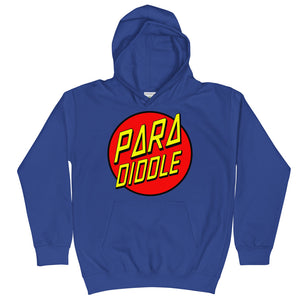 Para Cruz Kids Hoodie-Marching Arts Merchandise-Royal Blue-L-Marching Arts Merchandise