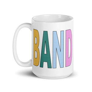 Textured Band Mug-Marching Arts Merchandise-Marching Arts Merchandise