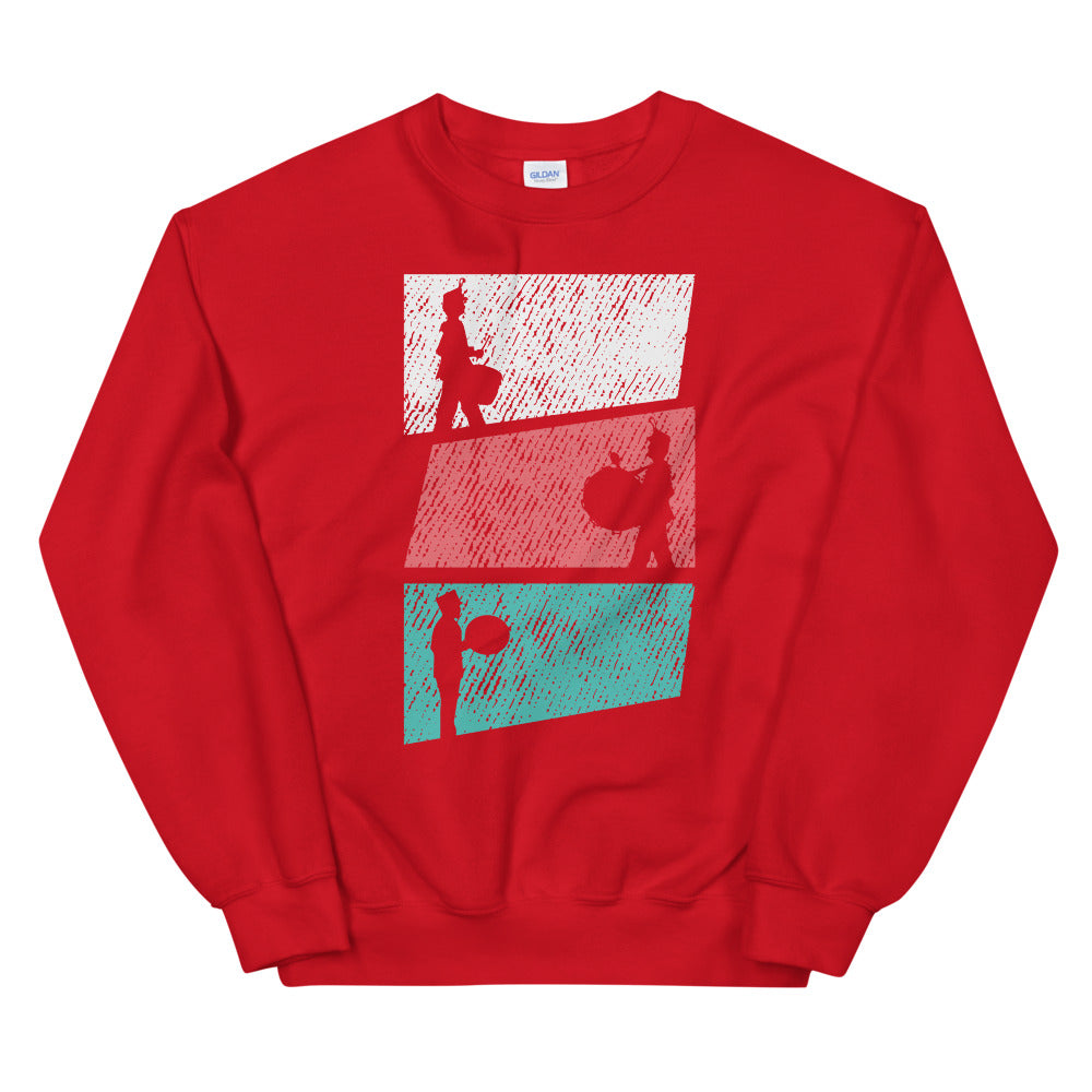 Marching Percussion Unisex Sweatshirt-Marching Arts Merchandise-Red-S-Marching Arts Merchandise