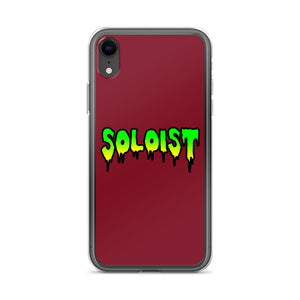 Soloist iPhone Case-Marching Arts Merchandise-iPhone XR-Marching Arts Merchandise