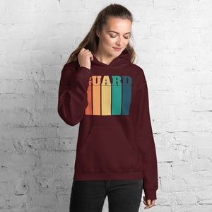 70s Color Guard Unisex Hoodie-Marching Arts Merchandise-Marching Arts Merchandise