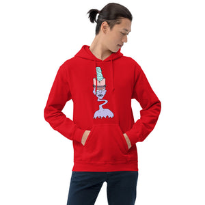 Zombie Drum Major Unisex Hoodie-Marching Arts Merchandise-Marching Arts Merchandise