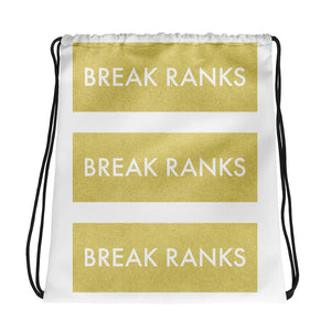 Break Ranks Marching Band Drawstring Bag-Drawstring Bag-Marching Arts Merchandise-Marching Arts Merchandise