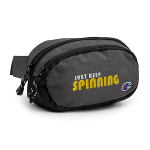 Just Keep Spinning Champion Fanny Pack-Marching Arts Merchandise-Marching Arts Merchandise