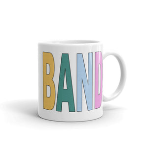 Textured Band Mug-Marching Arts Merchandise-11oz-Marching Arts Merchandise
