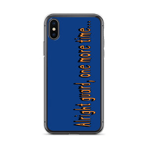 One More Time iPhone Case-Marching Arts Merchandise-iPhone X/XS-Marching Arts Merchandise