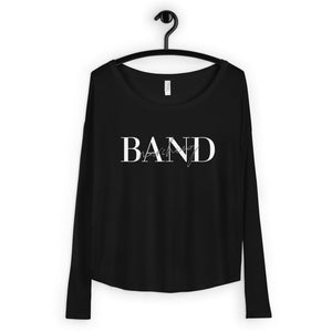 Marching Band Ladies' Long Sleeve Tee-Shirt-Marching Arts Merchandise-Marching Arts Merchandise