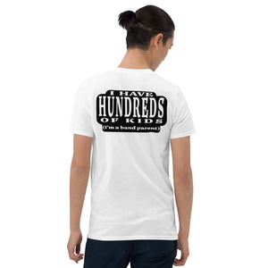 Hundreds Short-Sleeve Unisex T-Shirt-Marching Arts Merchandise-White-S-Marching Arts Merchandise