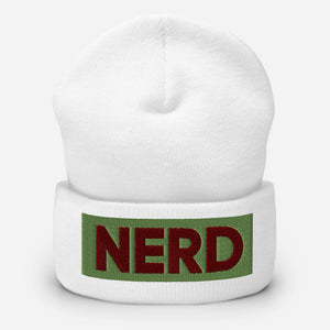 NERD Cuffed Beanie-Marching Arts Merchandise-Marching Arts Merchandise