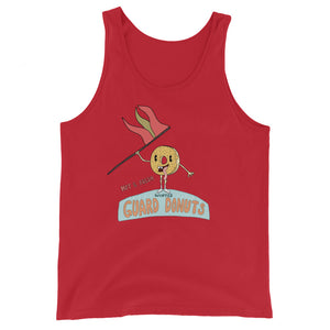 Flag Donuts Color Guard Unisex Tank Top-Marching Arts Merchandise-Red-XS-Marching Arts Merchandise