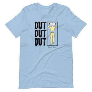 Love Dut Dut Out Color Guard Short-Sleeve Unisex T-Shirt-Marching Arts Merchandise-Light Blue-XS-Marching Arts Merchandise
