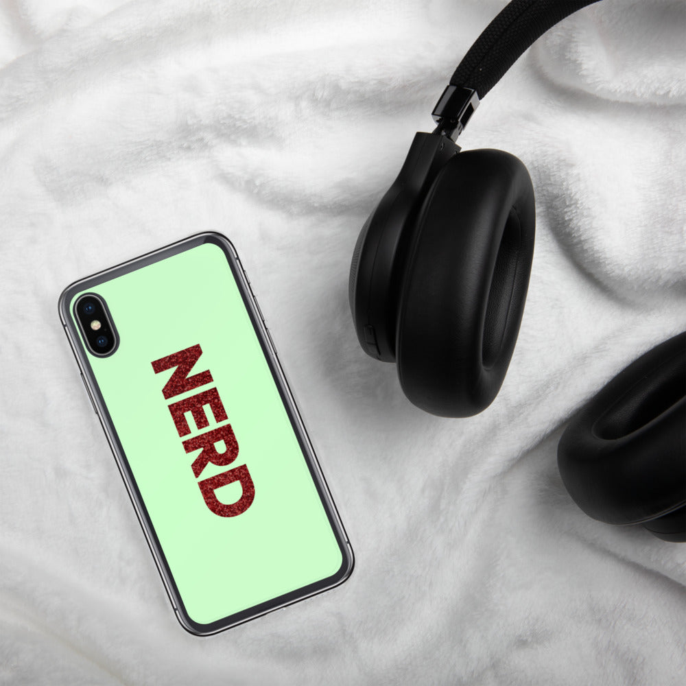 Nerd iPhone Case-Marching Arts Merchandise-iPhone X/XS-Marching Arts Merchandise