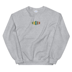 Retro Rifle Unisex Sweatshirt-Marching Arts Merchandise-Sport Grey-S-Marching Arts Merchandise