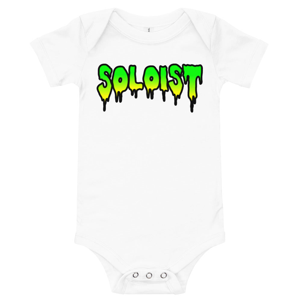 Soloist Onesie-Marching Arts Merchandise-White-12-18m-Marching Arts Merchandise