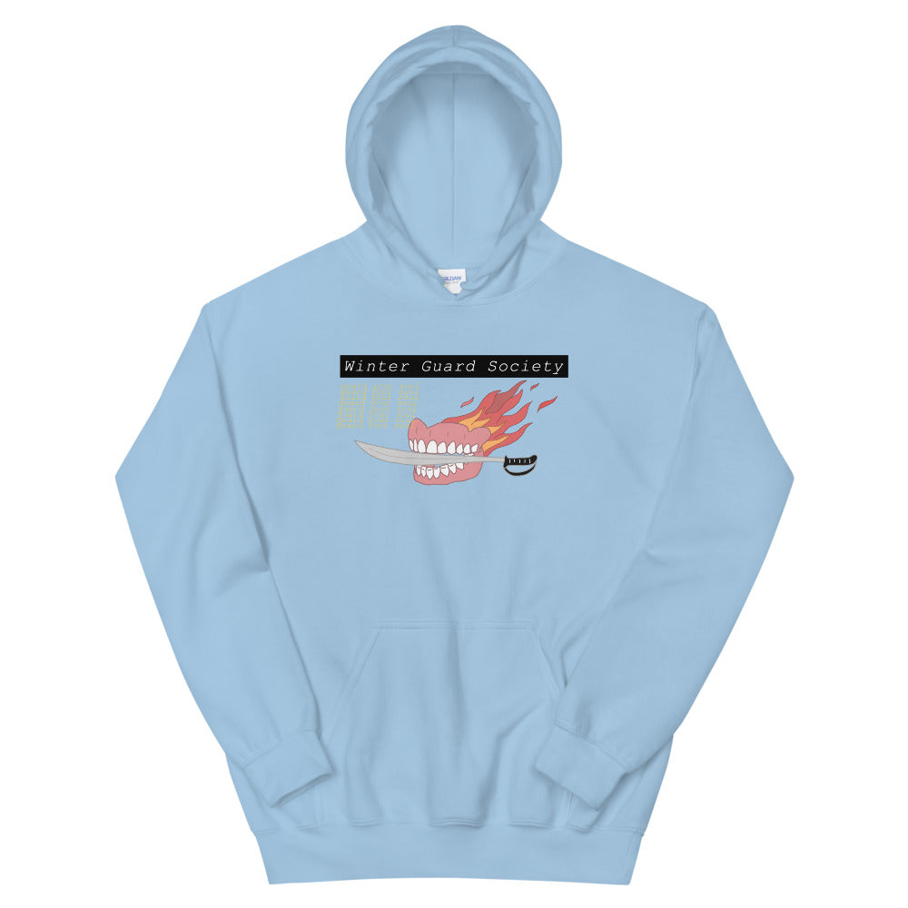 Winter Guard Saber Color Guard Unisex Hoodie-Marching Arts Merchandise-Light Blue-S-Marching Arts Merchandise