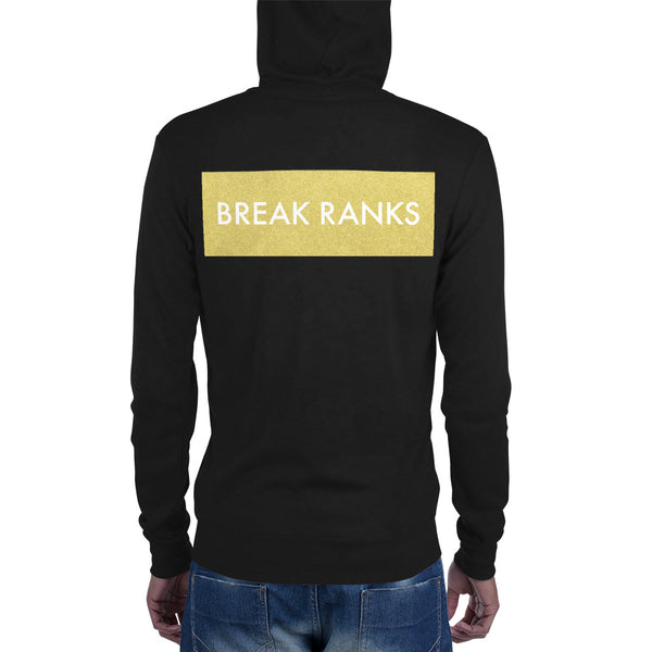 Break Ranks Unisex Zip Hoodie - Marching Arts Merchandise -  - Marching Arts Merchandise - Marching Arts Merchandise - band percussion color guard clothing accessories home goods