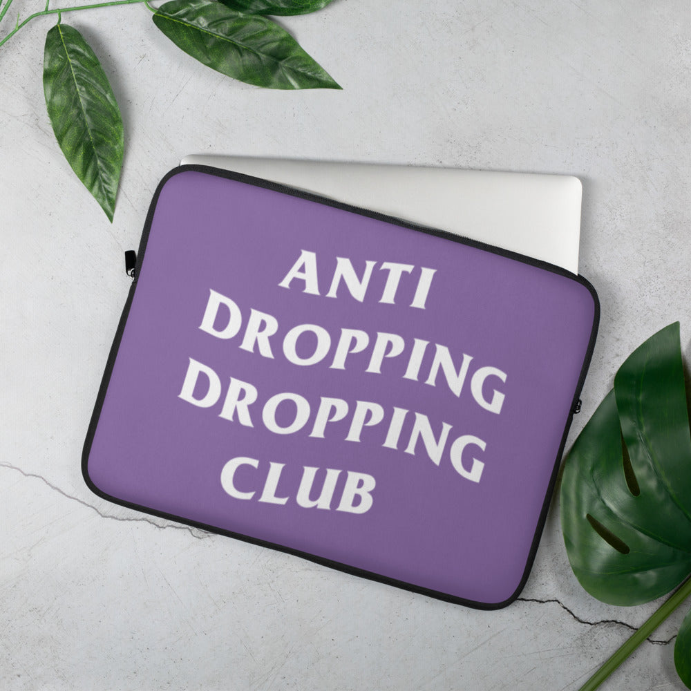 Anti Dropping Dropping Club Laptop Sleeve - Marching Arts Merchandise