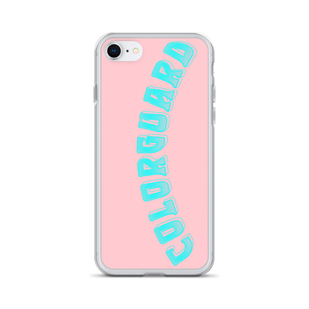 Color Guard iPhone Case-Marching Arts Merchandise-iPhone SE-Marching Arts Merchandise