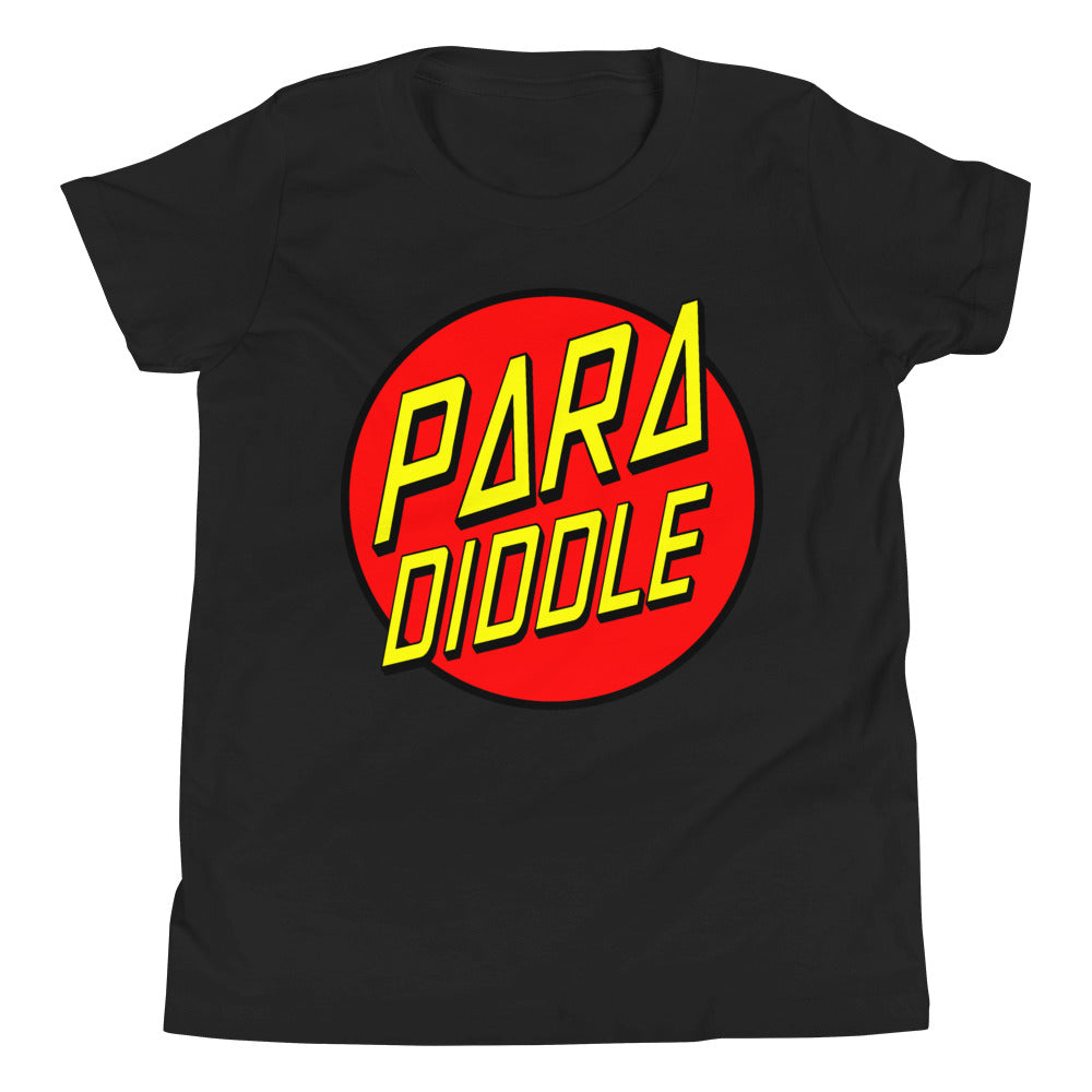 Para Cruz Youth Short Sleeve T-Shirt-Marching Arts Merchandise-Black-L-Marching Arts Merchandise