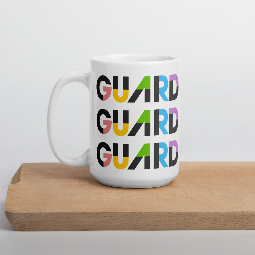 Color Block Guard Color Guard Mug-Mug-Marching Arts Merchandise-Marching Arts Merchandise