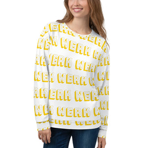WERK All-Over Sweatshirt-Marching Arts Merchandise-XS-Marching Arts Merchandise