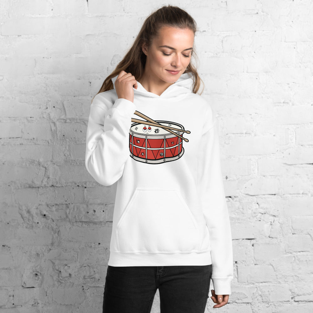 Angry Snare Percussion Unisex Hoodie-Marching Arts Merchandise-Marching Arts Merchandise