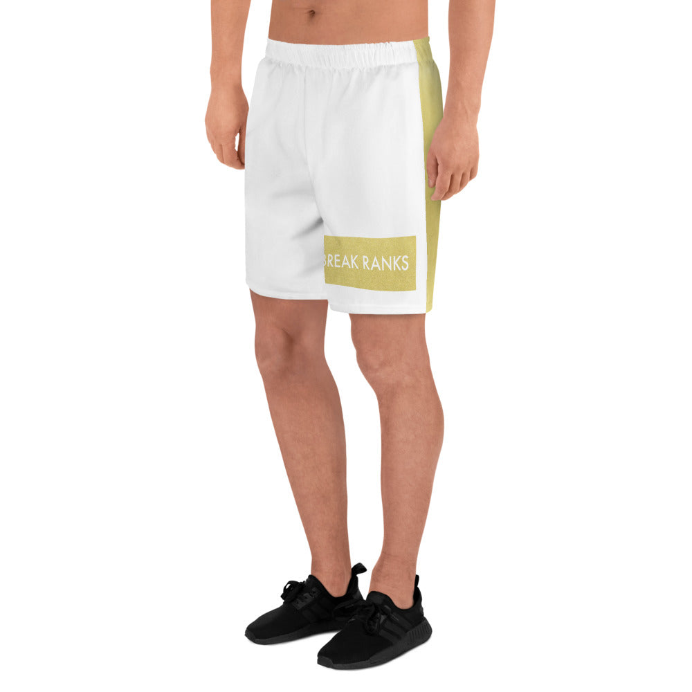 Break Ranks Marching Band Men's Athletic Long Shorts-Shorts-Marching Arts Merchandise-XS-Marching Arts Merchandise