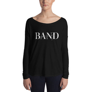 Marching Band Ladies' Long Sleeve Tee-Shirt-Marching Arts Merchandise-S-Marching Arts Merchandise