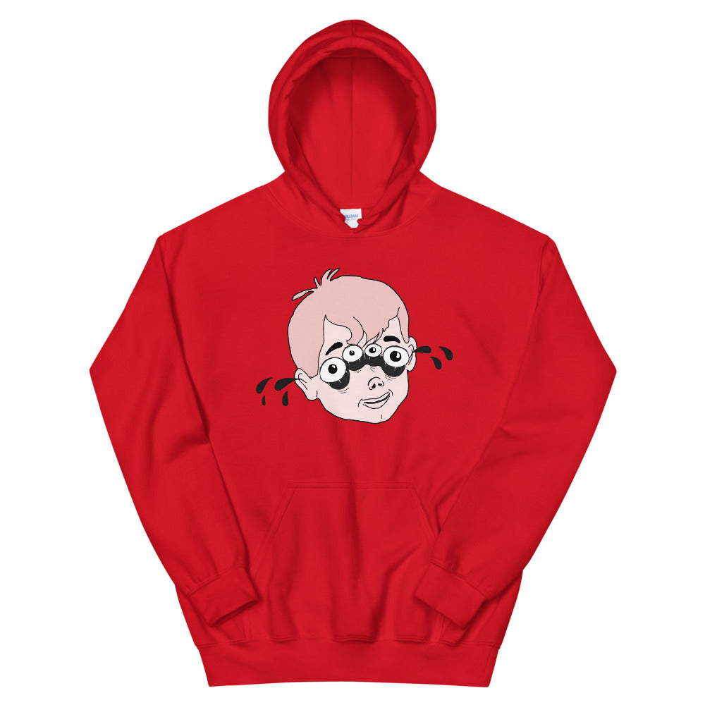 Four Eyed Tenor Percussion Unisex Hoodie-Marching Arts Merchandise-Red-S-Marching Arts Merchandise