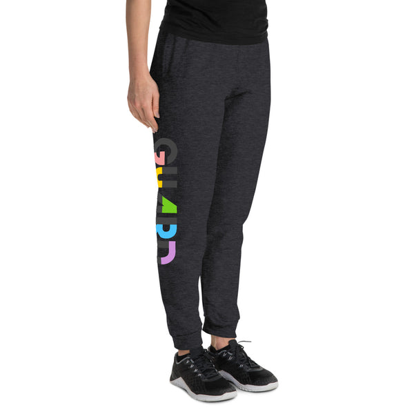 Color Block Guard Unisex Joggers - Marching Arts Merchandise -  - Marching Arts Merchandise - Marching Arts Merchandise - band percussion color guard clothing accessories home goods