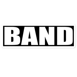 Band Band Marching Band Bubble-Free Stickers-Sticker-Marching Arts Merchandise-5.5x5.5-Marching Arts Merchandise