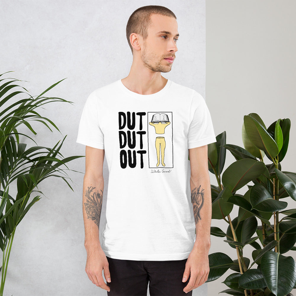 Love Dut Dut Out Color Guard Short-Sleeve Unisex T-Shirt-Marching Arts Merchandise-Marching Arts Merchandise